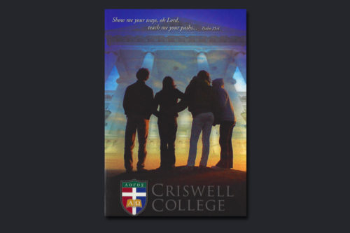 Criswell Catalog Cover